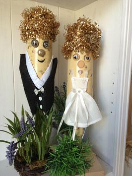 Brautpaar   Goldhochzeit