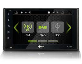 2-DIN INFOTAINER mit DAB+, USB und Bluetooth