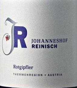 2019 Rotgipfler, Johanneshof Reinisch