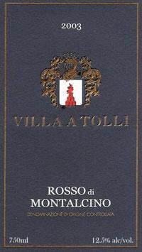 2008 Rosso di Montalcino DOC, Villa a Tolli