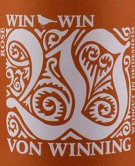 2019 Win Win Rosé QbA trocken, Winning