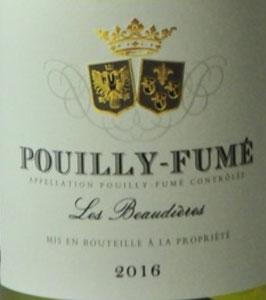 2019 Pouilly Fumé Les Beaudieres, Cave de Pouilly
