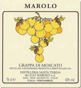 Grappa di Moscato 0,7 l Flasche, Marolo