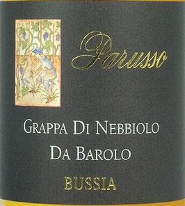 Grappa di Barolo Bussia 0,5 l Flasche, Parusso