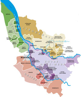 Bordeaux Rotwein Box