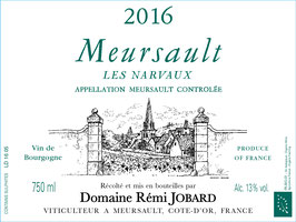 2017 Meursault Les Narvaux 1er Cru, Jobard