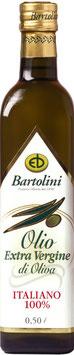Olio di oliva extra virgin, 1,0 l Flasche, Bartolini