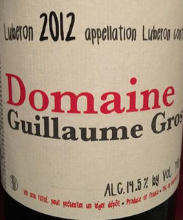 2013 Domaine Guillaume Gros Luberon