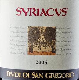 2005 Syriacus rosso IGT, Feudi