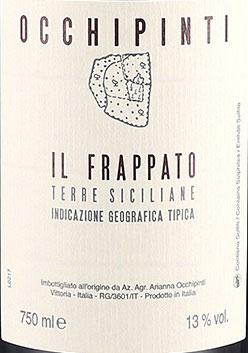 2018 Il Frappato IGT, Occhipinti
