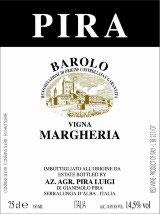 2015 Barolo Margheria DOCG, Luigi Pira