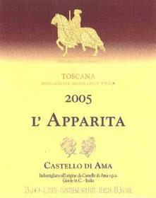 1988 Merlot Vigna L`Apparita IGT, Ama