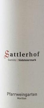 2012 Morillon Pfarrweingarten, Sattlerhof