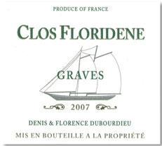 2018 Château Clos Floridene AC Graves
