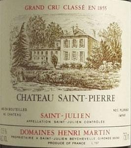 1996 Château Saint Pierre
