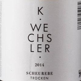 2019 Scheurebe QbA trocken, Wechsler