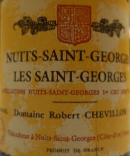 1997 Nuits-Saint-Georges Les Saint-Georges 1er Cru, Chevillon