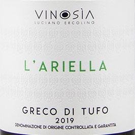 2019 Greco di Tufo l`Arielle DOC, Vinosia