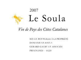 2009 Soula blanc, Le Soula