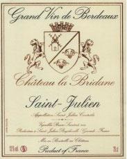 2018 Château La Bridane