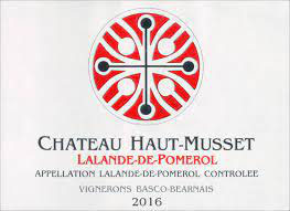 2016 Château Haut Musset