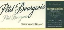 2019 Sauvignon blanc petit bourgeois, Bourgeois