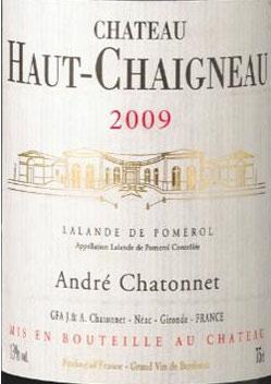 2009 Château Haut Chaigneau Cuvee Prestige