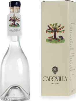 Distillato di More di Rovo (Brombeere) 0,5 l Flasche, Capovilla