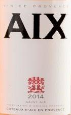 2020 AIX Rosé, Saint Aix