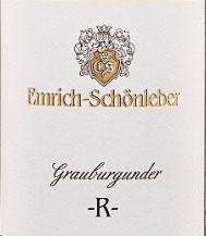 """2015 Grauburgunder """"R"""" QbA trocken, Emrich-Schönleber"""
