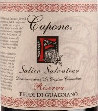 2007 Salice Salentino Riserva Cupone DOC, Guagnano