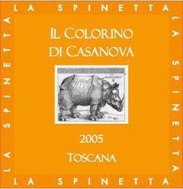 2015 Il Colorino di Casanova IGT, Casanova Spinetta