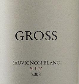 2008 Sauvignon blanc Sulz, Gross