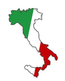 Italien Rotwein Box