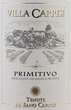 2019 Primitivo Villa Carrisi IGT, Al Bano