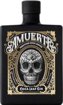 Amuerte Coca leaf Gin Black Edition, 0,7 l Flasche