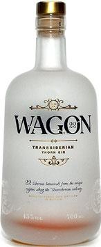 Wagon 22 Transsiberian Gin, 0,7 l Flasche