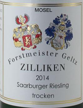 2019 Saarburger Riesling QbA trocken, Zilliken