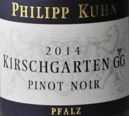 2018 Laumersheimer Kirschgarten Pinot Noir Großes Gewächs QbA trocken, Kuhn