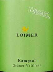2019 Grüner Veltliner Kamptal DAC, Loimer