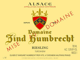 2018 Riesling Turckheim AC, Zind-Humbrecht