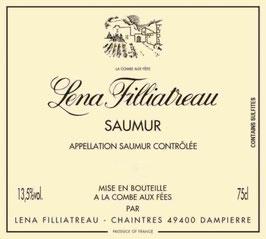 2019 Saumur blanc Lena Filliatreau, Filliatreau