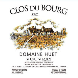 2018 Vouvray Le Clos du Bourg sec, Huet
