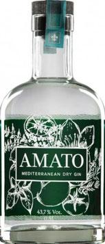 Amato Wiesbaden dry Gin, 0,5 l Flasche