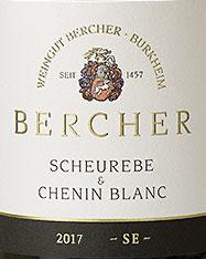 2018 Scheurebe & Chenin blanc QbA trocken, Bercher