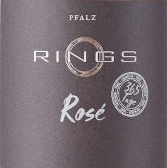 2019 365 Tage Rosé QbA trocken, Rings