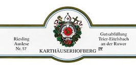 2011 Eitelsbacher Karthäuserhofberg Riesling Auslese  Nr. 57 fruchtsüß, 0,375 l Flasche