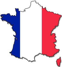 Frankreich Rotwein Box