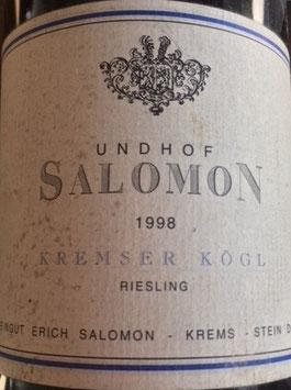 1998 Riesling Kremser Kögl, Salomon-Undhof