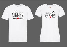T-shirt pour elle & lui